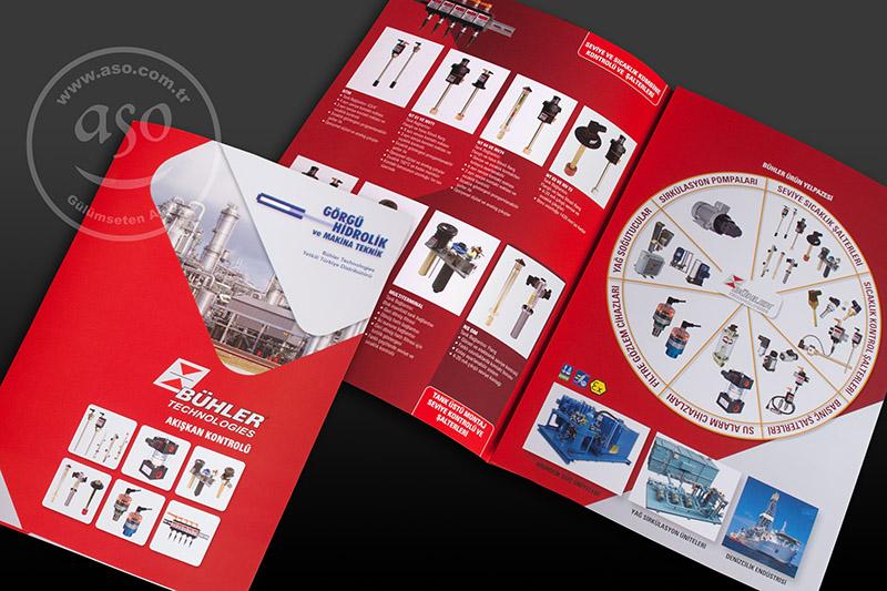 Broşür tasarımı, katalog tasarımı